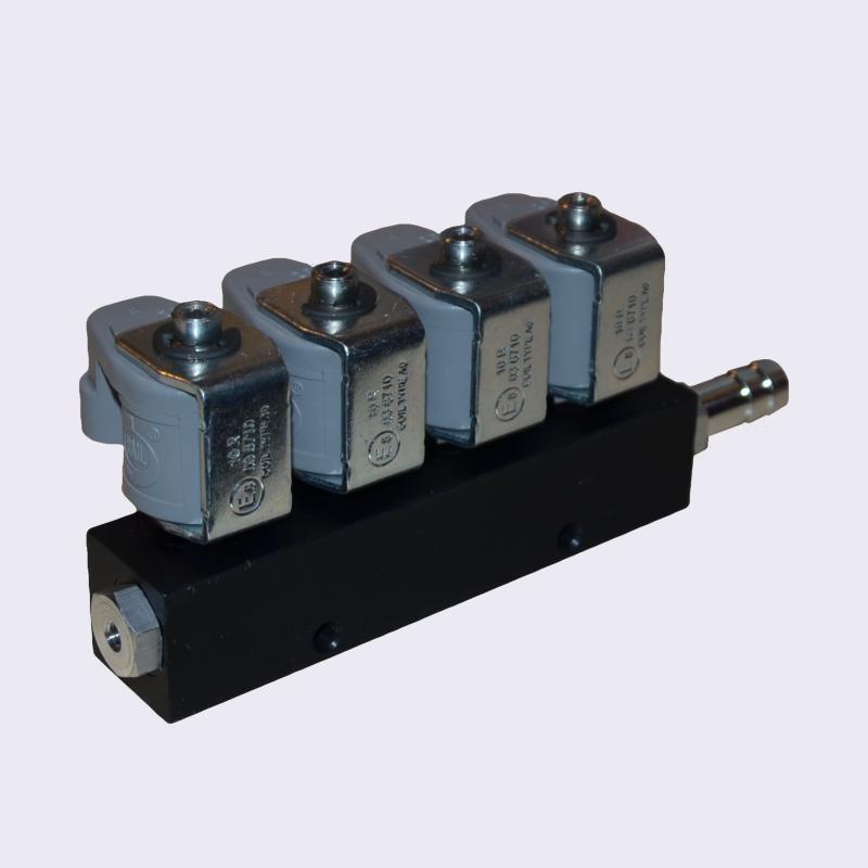 Форсунки Rail IG-1 (2 Ом, 4 цилиндра)