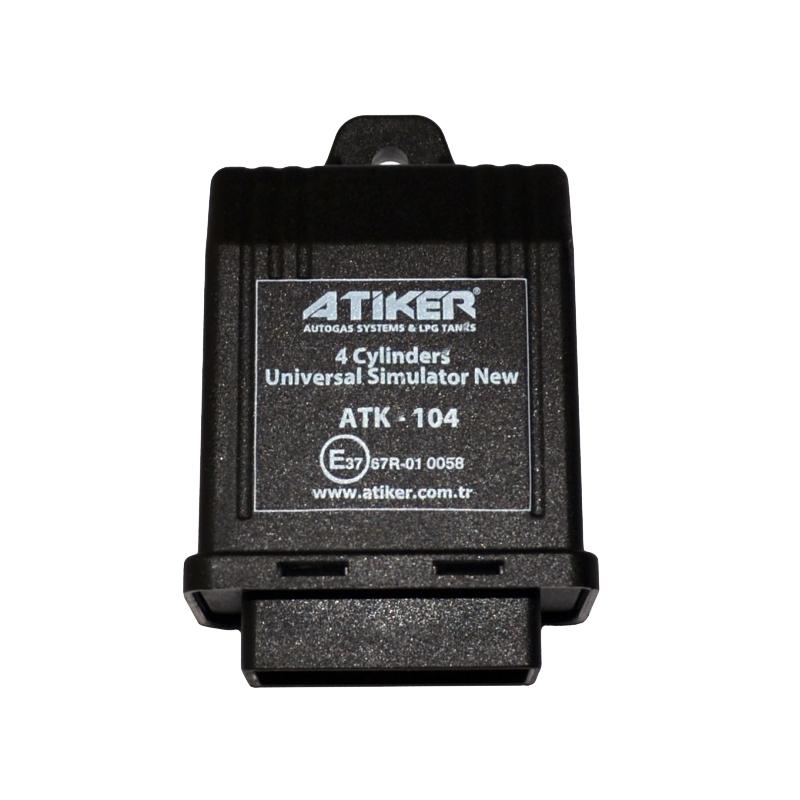 Эмулятор форсунок Atiker (4 цилиндра) с проводами