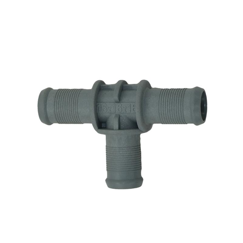 Тосольный тройник d16-16-16 пластиковый BRC