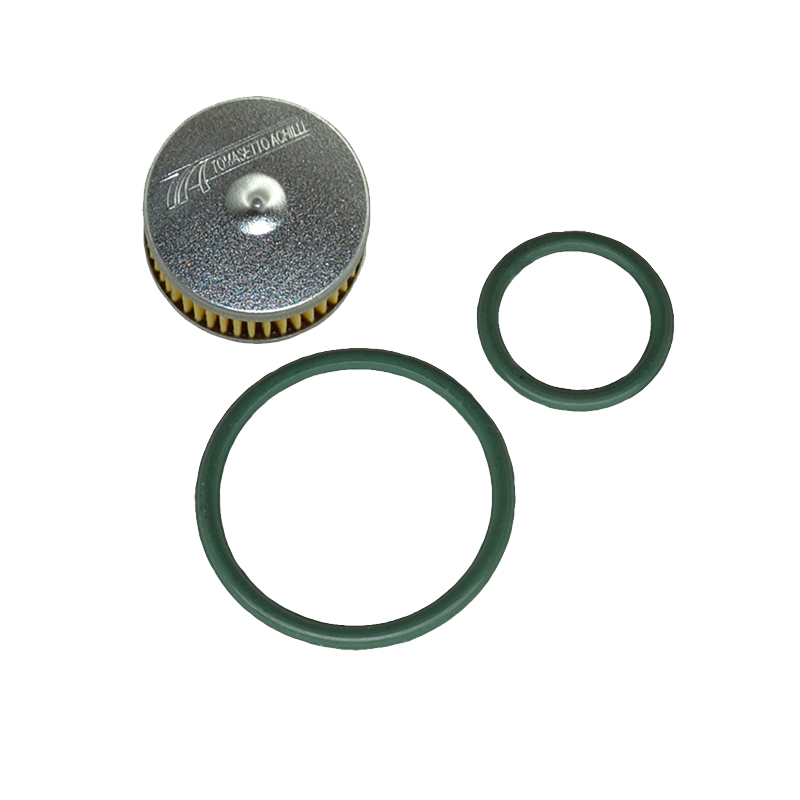 Фильтр грубой очистки Tomasetto (№10, в клапан редуктора) с резиновыми уплотнительными кольцами