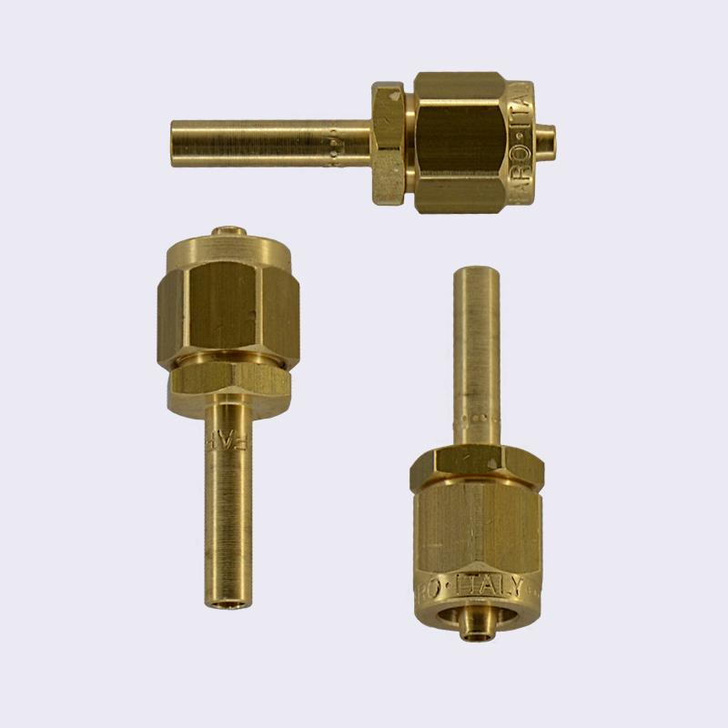 Фитинг 6-6 прямой для термопластиковой трубы
