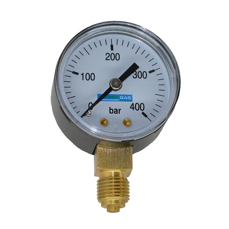 Метановый манометр 0-400 Бар Greengas в Харькове