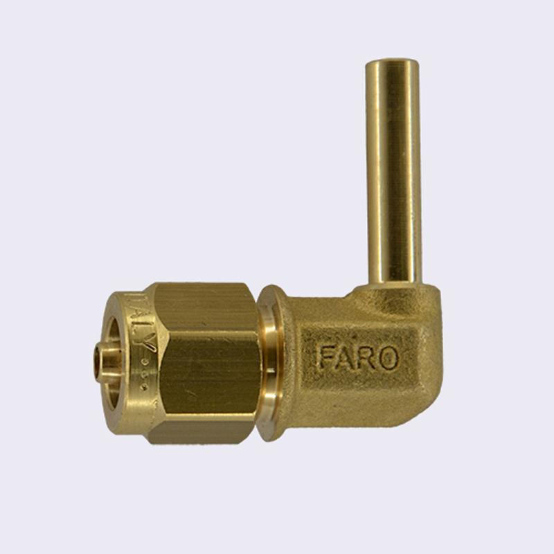 Фитинг 6-6 угловой для термопластиковой трубы
