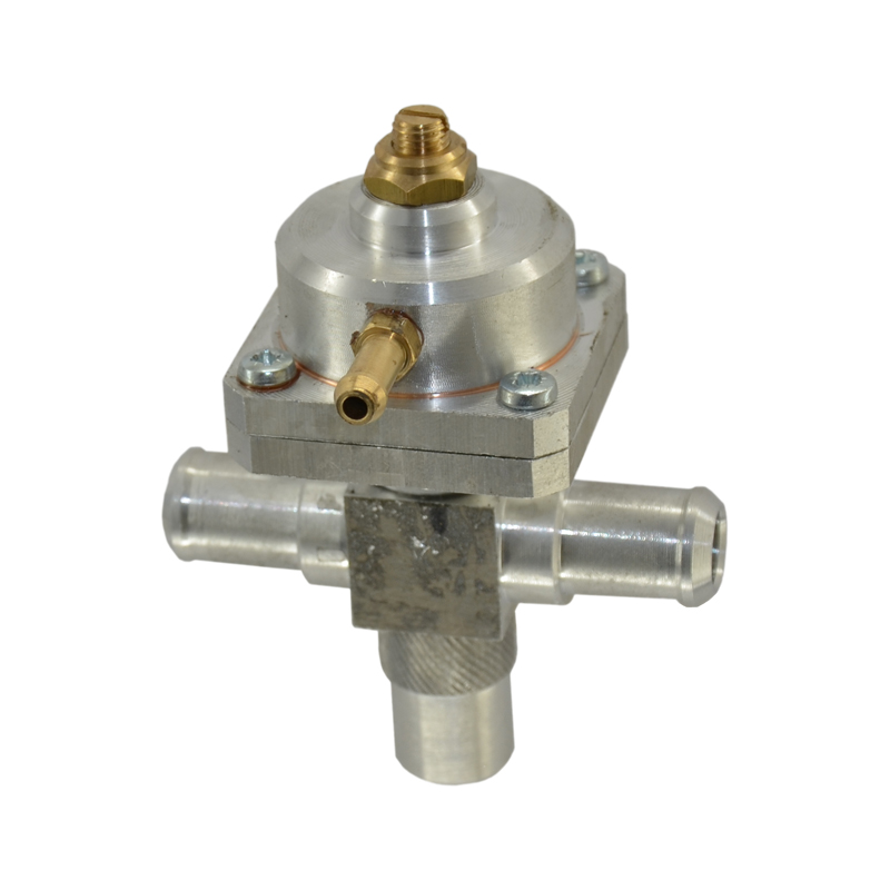 Вакуумный дозатор газа d16-16 алюминиевый (без гарантии)