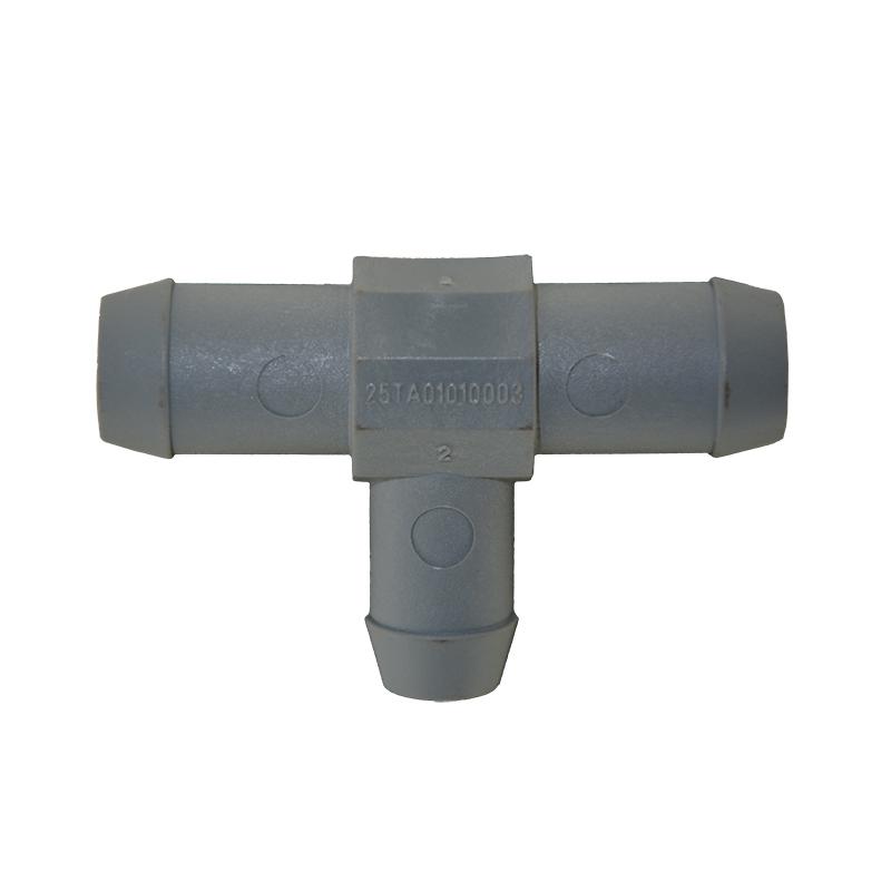 Тосольный тройник d20-16-20 пластиковый BRC