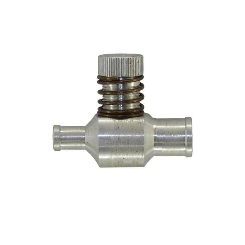 Дозатор газа d16-10 мм алюминиевый