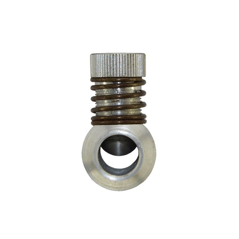 Дозатор газа d16-16 алюминиевый