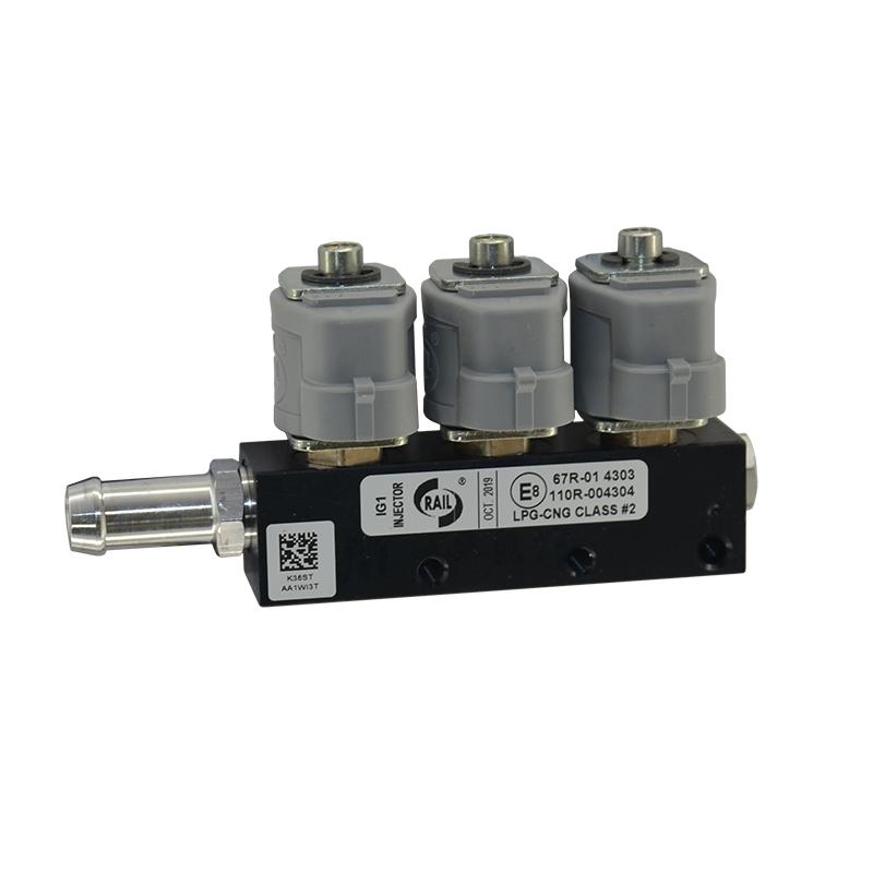 Форсунки Rail IG-1 (2 Ом, 3 цилиндра)