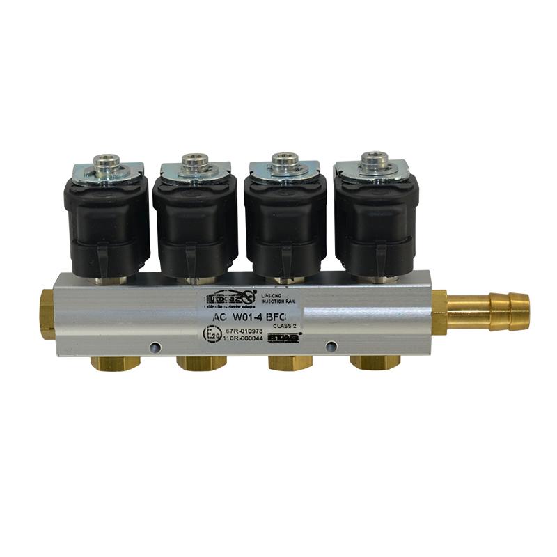 Форсунки Stag W01 BFC (2 Ом, рамка 4 цилиндра)