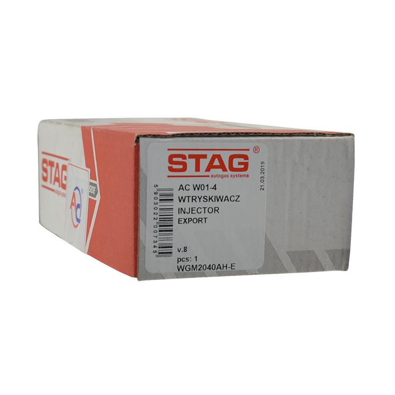 Форсунки Stag W01 (2 Ом, рамка 4 цилиндра)