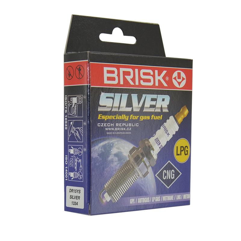 Свеча зажигания Brisk Silver DR15YS (1334)