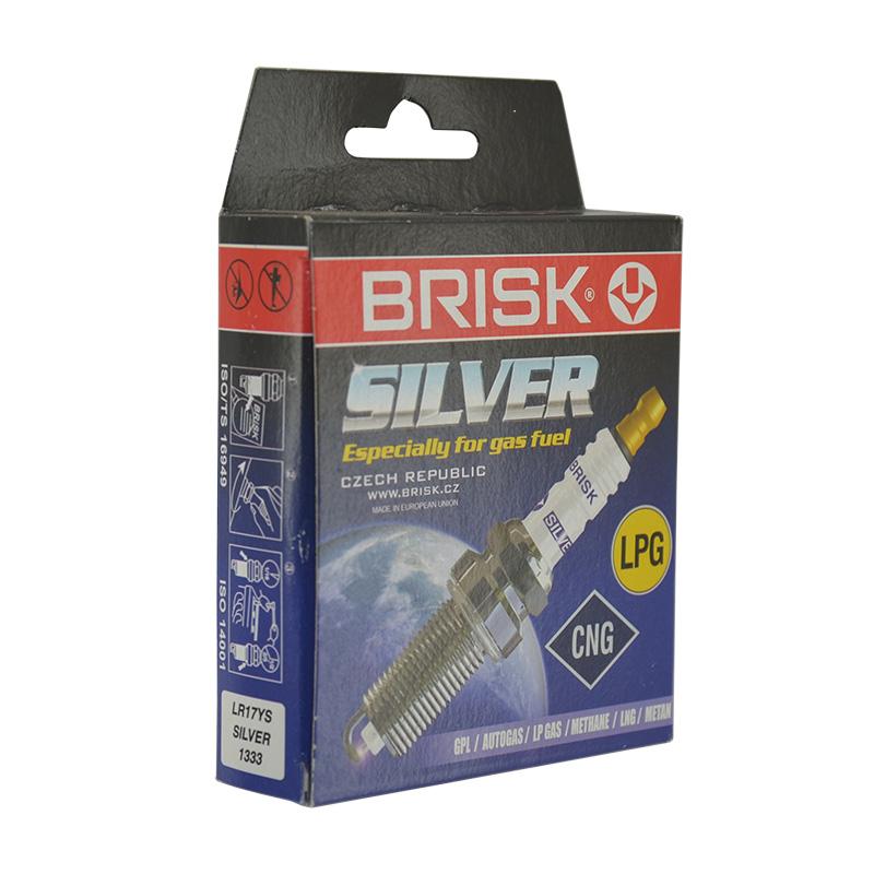 Свеча зажигания Brisk Silver LR17YS (1333)