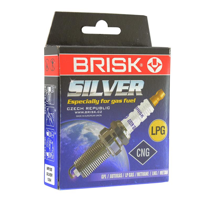 Свеча зажигания Brisk Silver NR15S (1354)