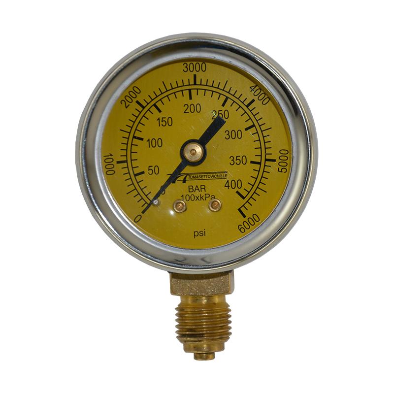 Метановий манометр 0-400 Бар Tomasetto