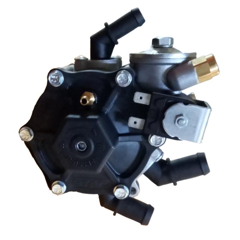 Редуктор STAG R02 black 120 HP (90 кВт) з вбудованим газовим клапаном