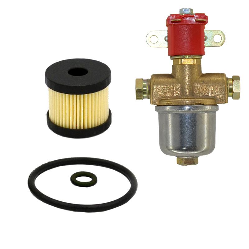 Фільтр грубого очищення для газового клапана Atiker 1308 із гумовими кільцями