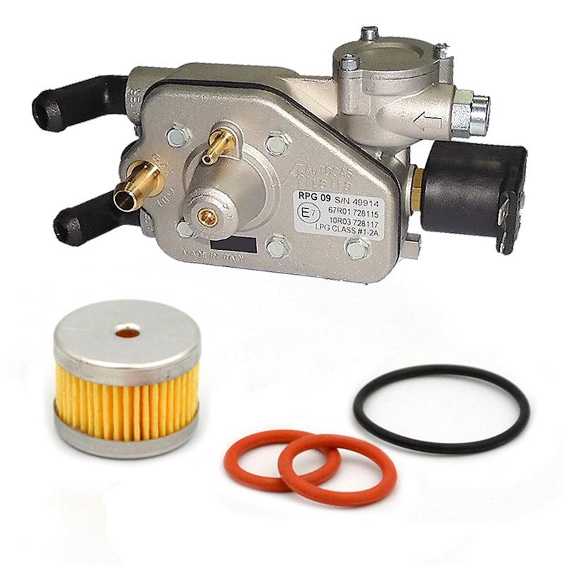 Фильтр грубой очистки для редуктора Autogas Italia RPG09 с резиновыми уплотнительными кольцами